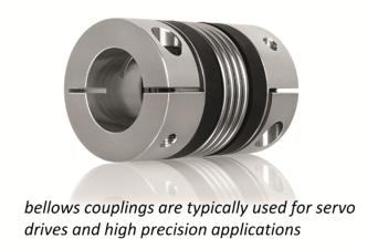 bellows servo coupling