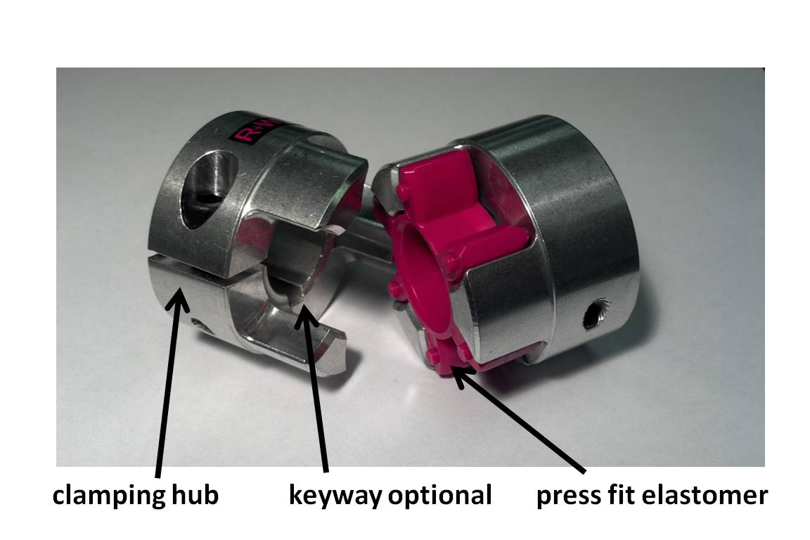 precision jaw coupling