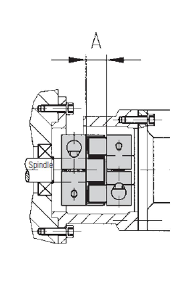 NEMA frame mounted motor